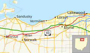 Lakewood Ohio Map by Ohio State Route 113 Wikipedia