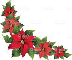 poinsettia corner borders u2013 happy holidays