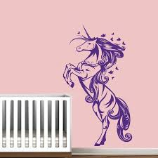unicorn horse nursery girls bedroom wall decal decor sticker art unicorn horse nursery girls bedroom wall decal decor sticker art vinyl wall stickers for kids room