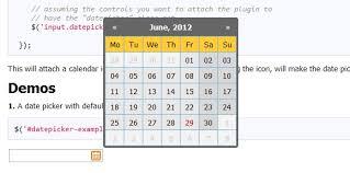 format date javascript jquery highly configurable zebra datepicker jquery plugin web resources
