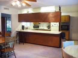 are brown kitchen cabinets outdated from outdated kitchen to colorful style cocina diy