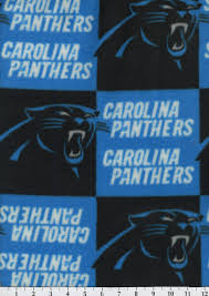 carolina panthers nfl fleece fabric joann