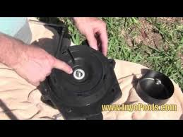 how to replace a pool pump motor youtube