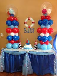 nautical baby shower decorations nautical baby shower baby boy shower babies