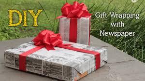 tutorial membungkus kado simple diy gift wrapping with newspaper bungkus kado dengan koran bekas