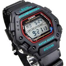 Jam Tangan Casio Dw 290 casio s dw290 1v classic sport watches fashion