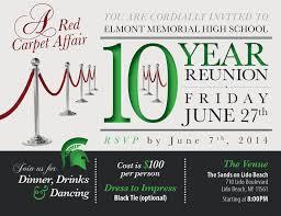 high school reunion invitations emhs reunion invitation candiddesigns