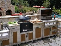 outdoor kitchen backsplash outdoor kitchen design tool stainless steel appliances plus cabinets