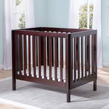 Folding Mini Crib by Delta Children Bennington Elite Mini Crib With Mattress
