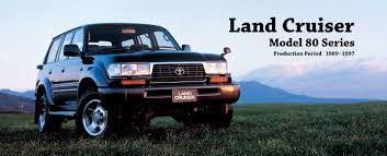 toyota global site land cruiser model 80 series 01