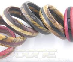 Wooden Wedding Rings by Wooden Wedding Rings Custom Wood Rings Titanium Buzz
