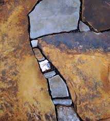 Dry Laid Flagstone Patio Savvy Housekeeping Different Types Of Flagstone Patios