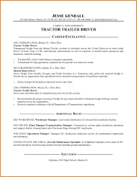 Resume Miami Driver Resume Format Doc Resume For Your Job Application