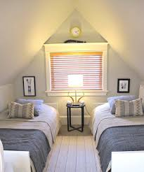 simple attic bedroom for twins with comfy bed ideas spectacular simple attic bedroom for twins with comfy bed ideas