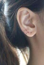 tight hoop earrings tiny gold hoop earrings cartilage 8mm sterling silver