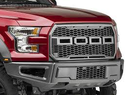 ford truck grilles barricade f 150 raptor style replacement grille w led