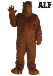 brown costume alf costume alf costumes for adults