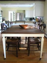 Dining Table White Legs Wooden Top 26 Best Table And Chairs Images On Pinterest Dining Rooms