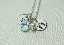 mothers jewelry birthstone mothers necklace personalized birthstone necklace