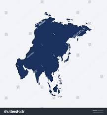 similar asia map asia map blank stock vector 503792830 shutterstock