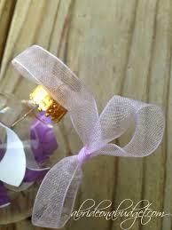 diy wedding invitation ornament a on a budget