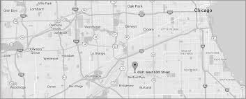 Map Chicago Il by Traylek Warehouse Inc