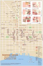 map of oakland oakland downtown chinatown map
