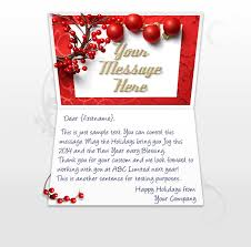 Happy New Year Business Card Christmas Ecards For Business Electronic Xmas Holiday Cards