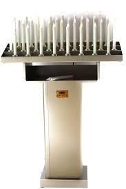 candelieri votivi ladina 12 volt candelabro votivo arte sacra e articoli