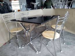 stainless steel table and chairs stainless steel furniture stainless steel table manufacturer from