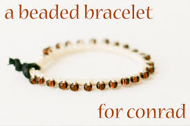 make bracelet with leather cord images A bead thread and leather bracelet diy a year of handmade gift png