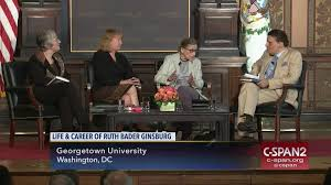 conversation justice ruth bader ginsburg apr 10 2009 c span org