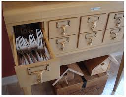 you need a library card catalog