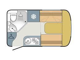 Caravan Floor Plans Wingamm Rookie 3 5 Review Wingamm Caravans Practical Caravan