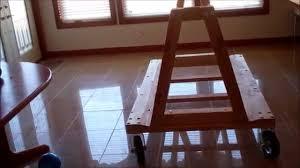 diy wood a frame cart youtube