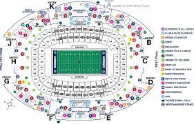 map ot stadium maps attstadium