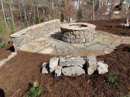 Firepit Stones Diy Outdoor Pit Kits Backyard Ideas Pinterest Broken