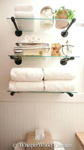 Floating Glass Shelves For Bathroom Glass Shelf Bathroom Engem Me
