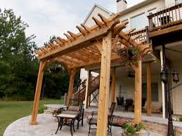 Garden Pergolas Ideas How To Build A Garden Pergola How Tos Diy