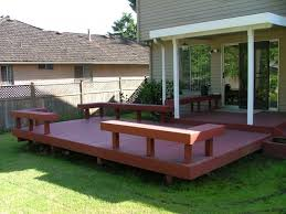 Wood Patio Deck Designs Surprising Exterior Wood Decking Photography A Home Security Ideas