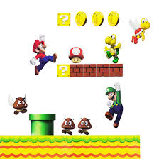 nintendo wall sticker getdigital