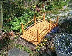 backyard bridges wooden garden bridge wooden garden bridge wooden garden bridges