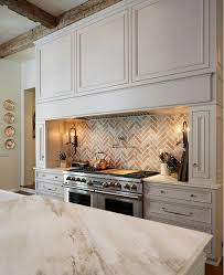 brick backsplash kitchen traditional off white kitchen with brick backsplash home bunch