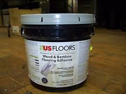 us floors wood bamboo flooring adhesive 3 5 gallon pail ebay