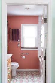 Help Me Decorate My Home by Pleasant Tiny Red Bathroom Decorating Ideas With Rounded Mirror