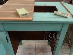 vintage sewing cabinet makeover with mms milk paint kitchen