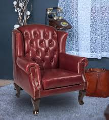 one and a half seater sofa buy modern 360 degree revolving sofa in burgundy full grain half