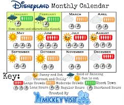 best time to visit disneyland 2017 disneyland crowd calendar