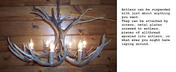 How To Make Deer Antler Chandelier I Need Details Of How To Make My Own Antler Chandelier And A Table
