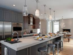 metal pendant lights kitchen over island cool led modern lighting